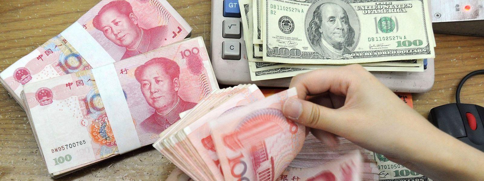 Die überraschende Abwertung des Yuan schürt weltweit die Sorgen vor einer chinesischen Wirtschaftskrise.