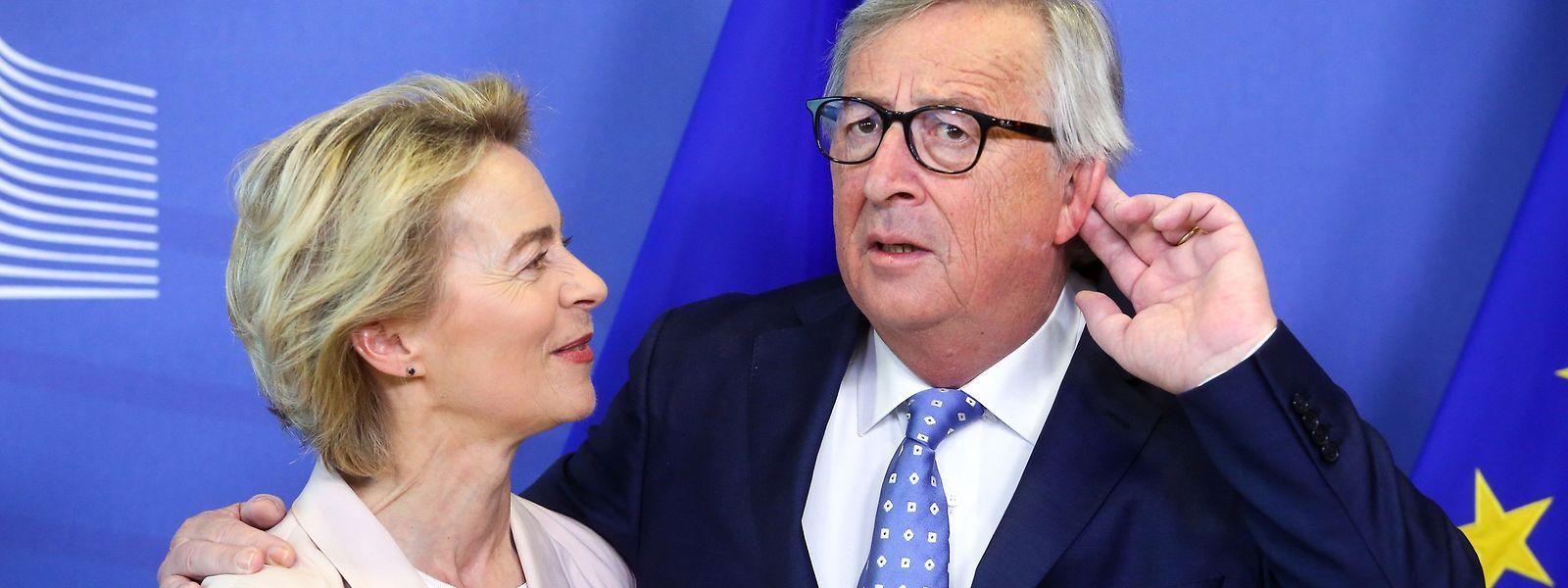 Jean-Claude Juncker übergibt am Sonntag sein Amt an Ursula von der Leyen.