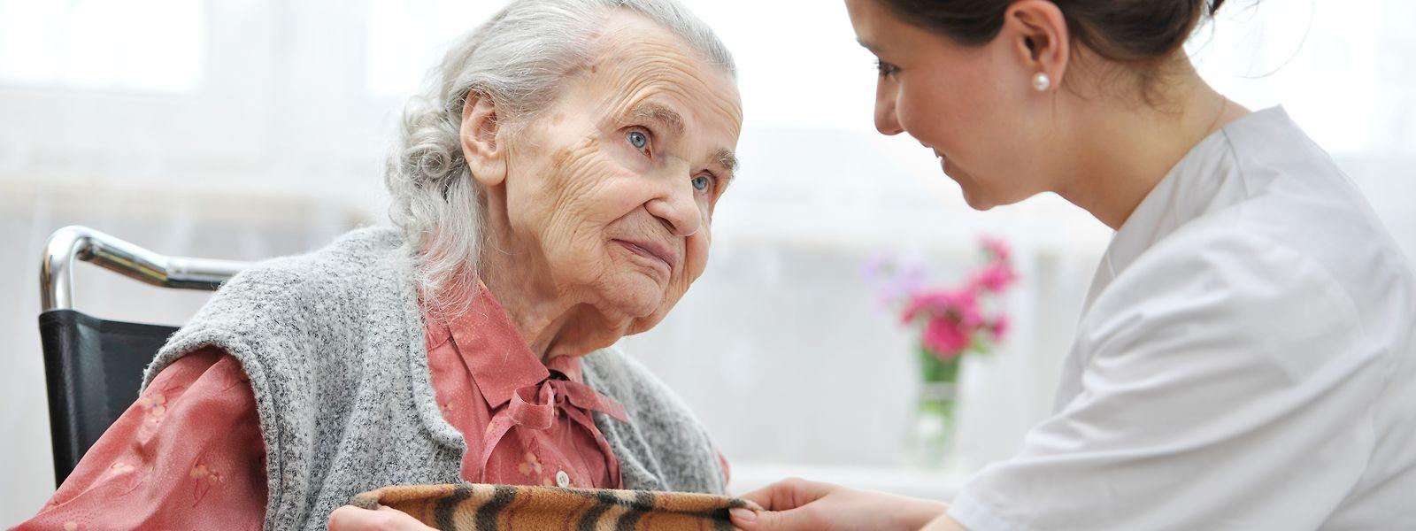 Wegen der Corona-Krise wurden die Aktivitäten in den Pflegeeinrichtungen auf das Notwendigste reduziert.