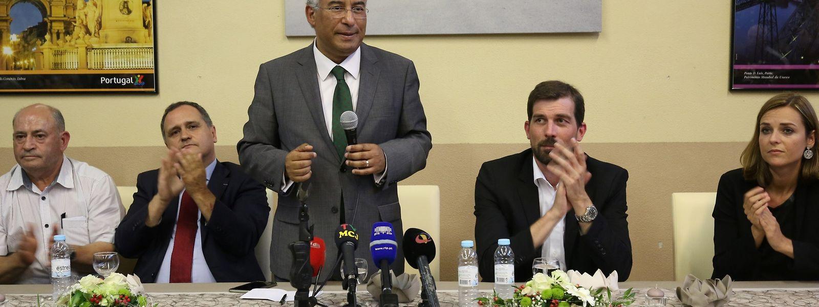 António Costa discursou para cerca de 80 simpatizantes no Luxemburgo, durante um jantar em que participaram também o deputado Paulo Pisco e representantes do partido socialista no Luxemburgo