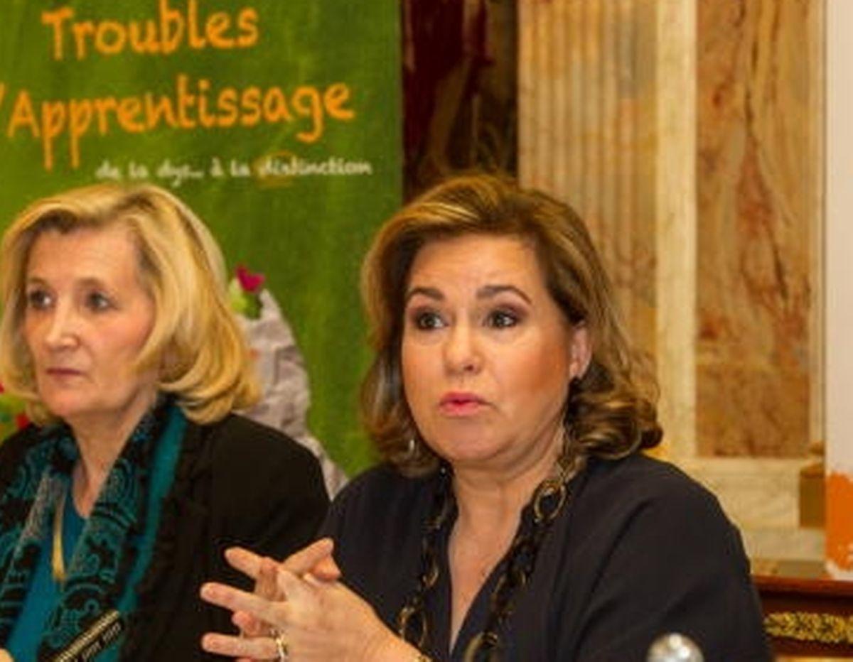 Chantal Selva, die externe Beraterin des großherzoglichen Hofes (links im Bild), soll in Ungnade gefallen sein.