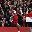Daniel Sturridge feiert den ersten Treffer des FC Liverpool.