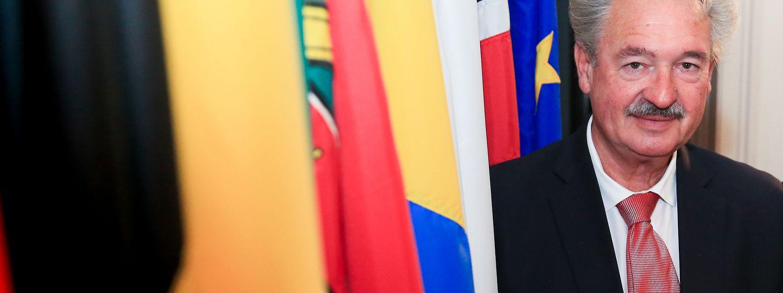 Jean Asselborn é o anfitrião da reunião dos ministros dos Negócios Estrangeiros no Luxemburgo.