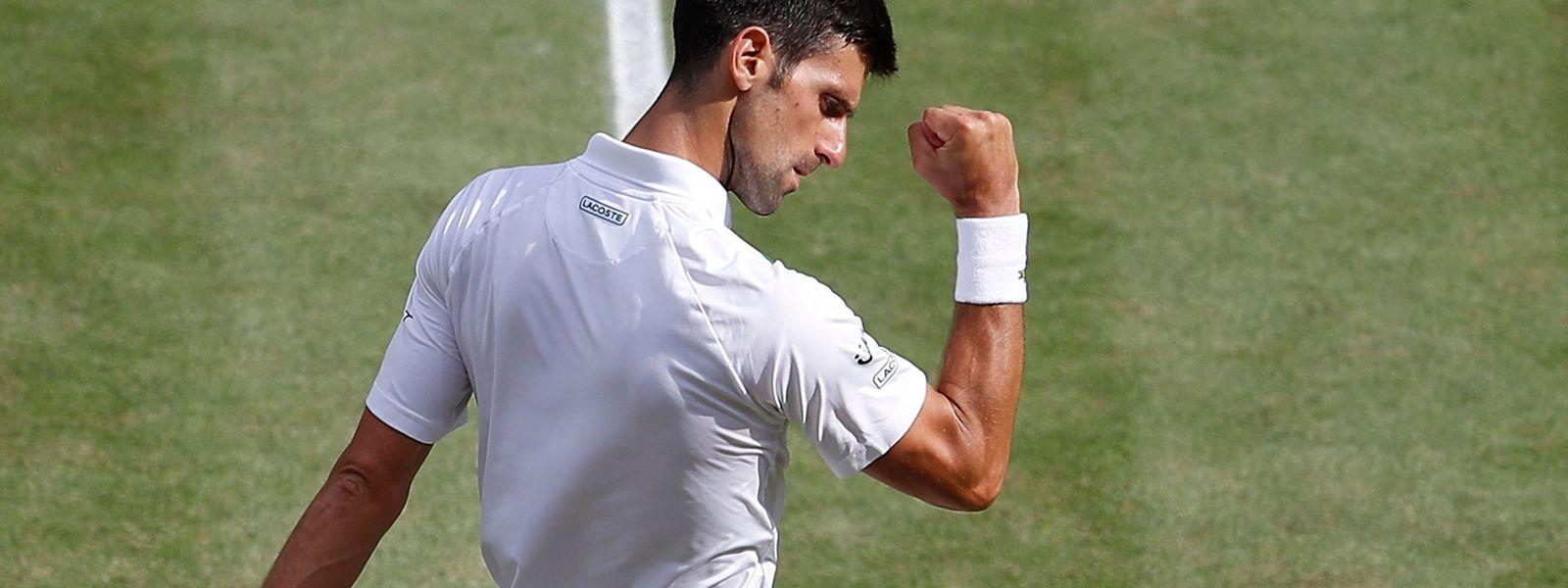 Novak Djokovic würde auch gerne in Tokio jubeln.