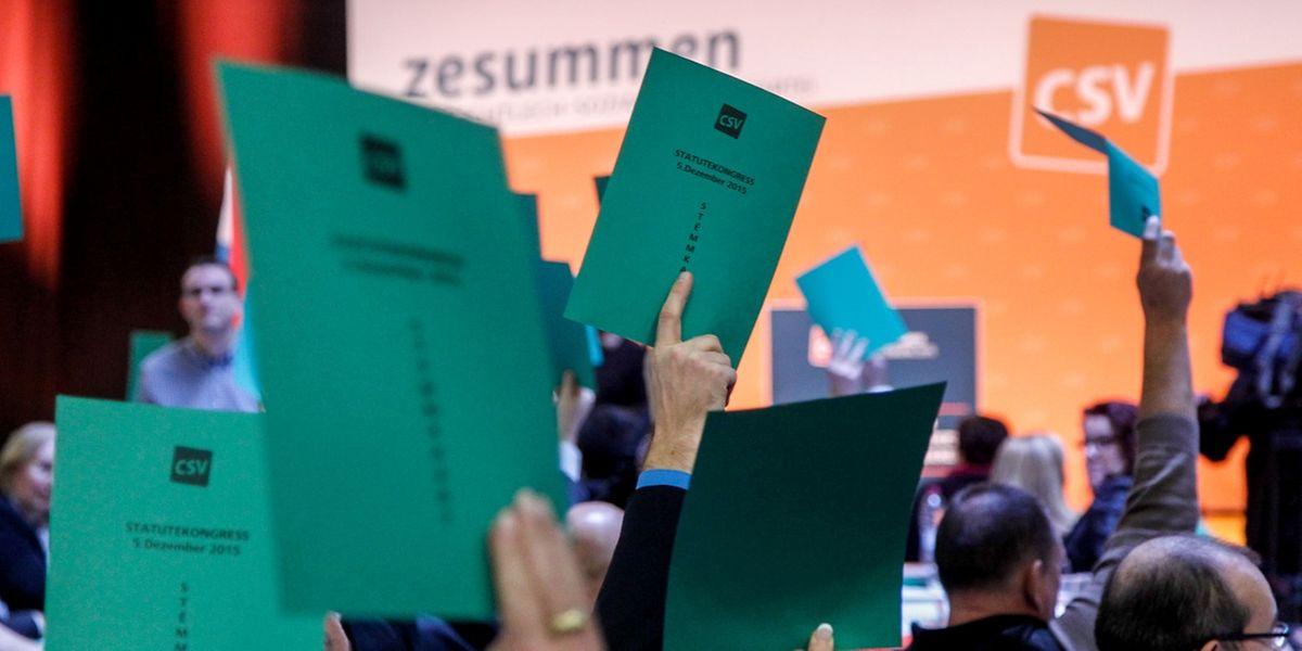 Für eine verbindliche Frauenquote von 40 Prozent bei den Landeswahlen erhielt der Nationalvorstand der CSV keine Mehrheit. Die Delegierten bevorzugten eine freiwillige Zielsetzung.