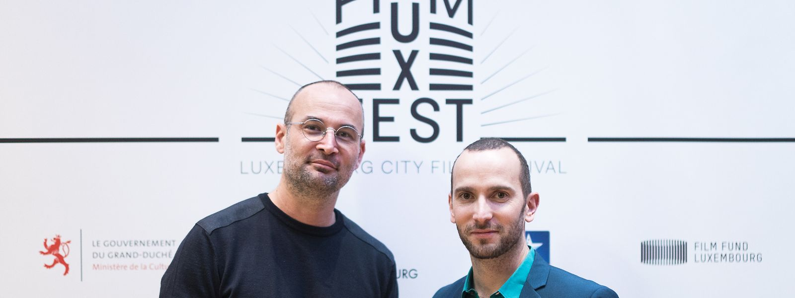 Nach Präsentationen wie hier beim LuxFilmFest geht es für den Regisseur Alexander Nanau (ob. l.) und den Produzenten Bernard Michaux (r.) nun zu den Oscars.