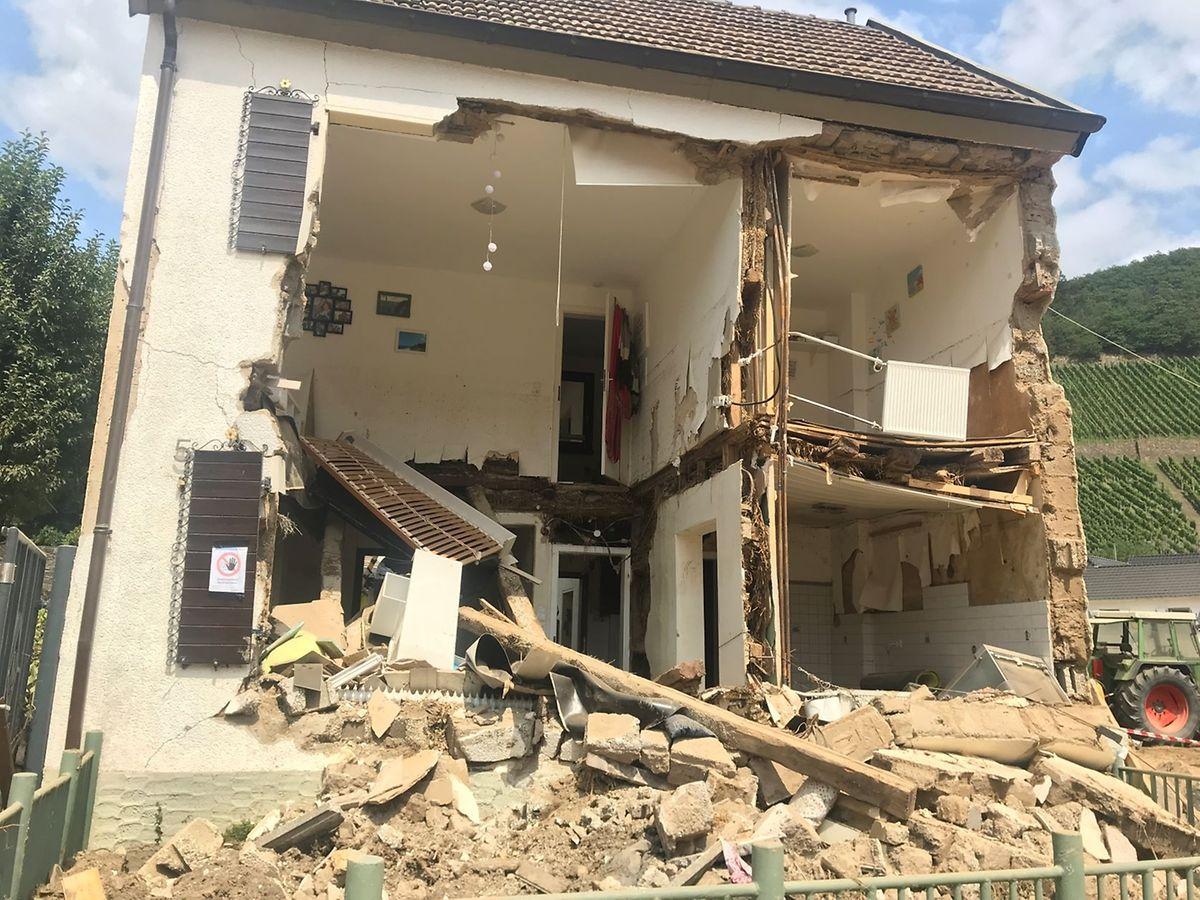 Das Haus eines weiter entfernten Nachbarn der Kriedels in Marienthal.