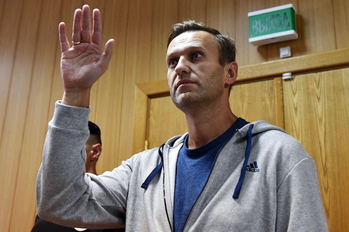 Der russische Oppositionsleader Alexei Navalny stört sich am Vorhaben der Regierung.