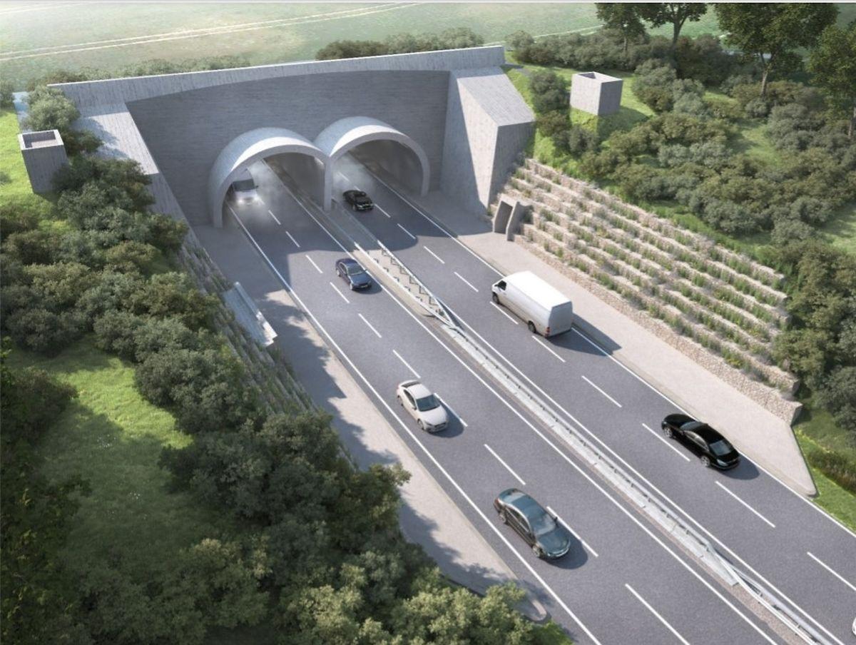 Die Umgehung wird durch einen 320 Meter langen Tunnel führen.