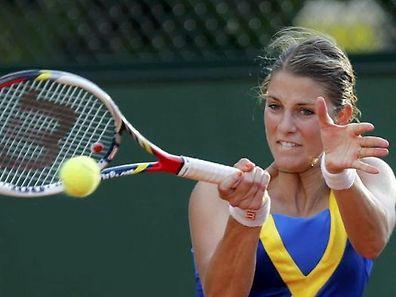 Mandy Minella scheitert im Doppel-Viertelfinale.