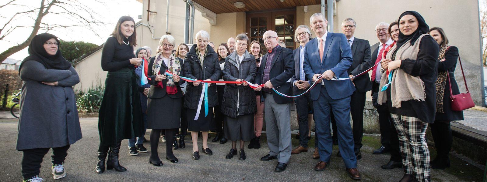 La maison a ouvert en novembre et a été inaugurée ce 16 janvier.
