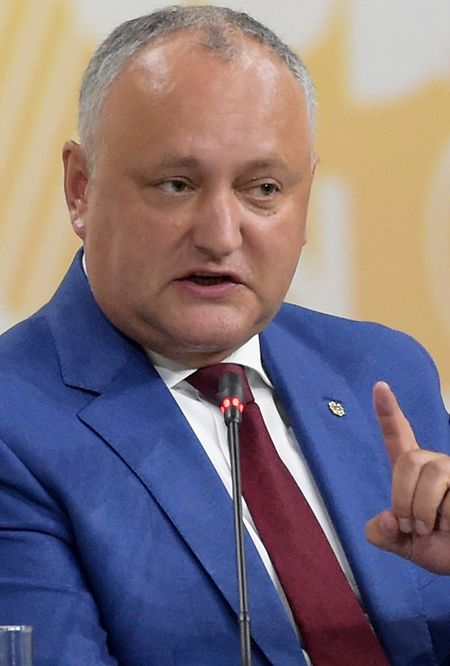 Der moldauische Präsident Igor Dodon.
