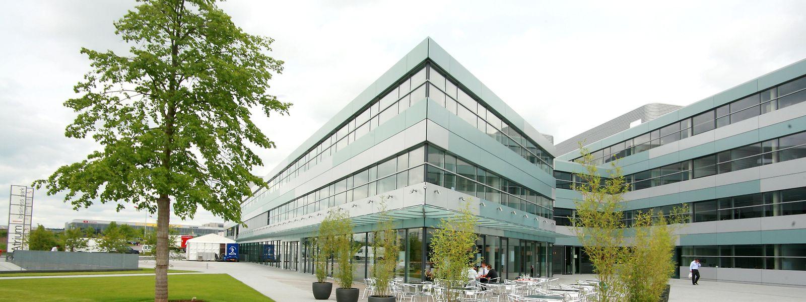 Der Atrium Business Park in Bartringen.