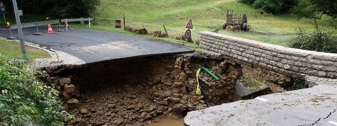 """Die """"eine"""" Ursache für die Flutkatastrophe im Ernztal gibt es nicht."""