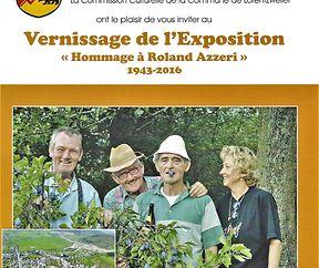 """EXPOSITION """"HOMMAGE À ROLAND AZZERI """""""