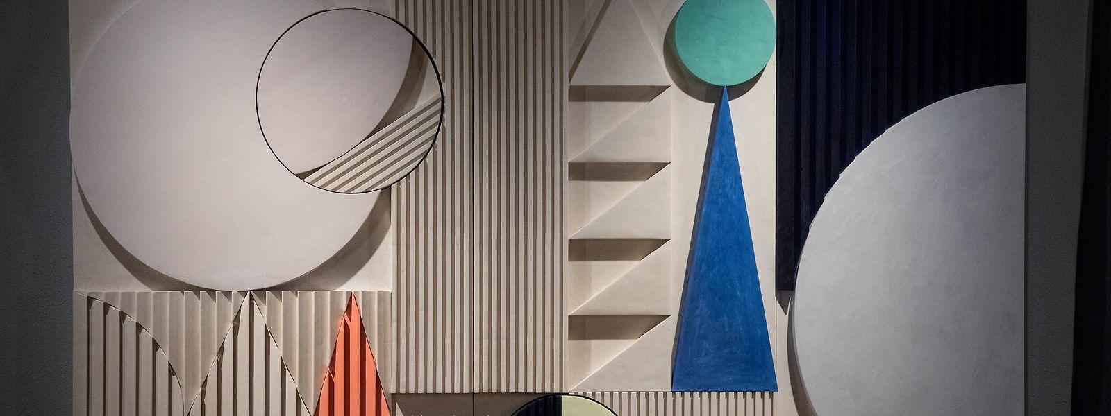 """A exposição """"Theater of Disorder"""" é asinada pelo duo belga Martine Feipel e Jean Bechameil."""