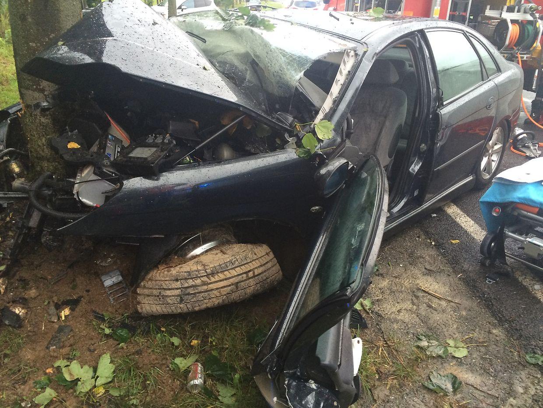 Das Auto des 85-Jährigen, der bei Huldigen ums Leben kam, wurde bei der Kollision total zerstört.