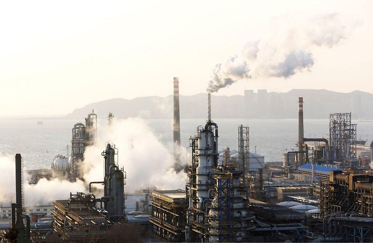Ölraffinerie in der Provinz Liaoning.