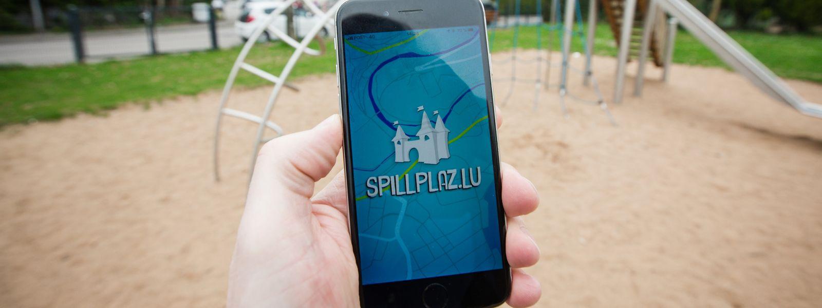 Eine neue Spielplatz-App macht Kinder und Eltern gleichermaßen glücklich.