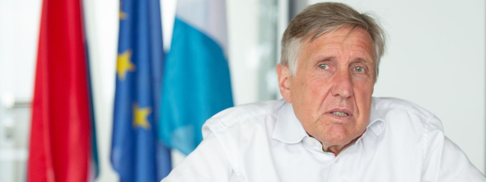 François Bausch a assuré du financement luxembourgeois son homologue belge