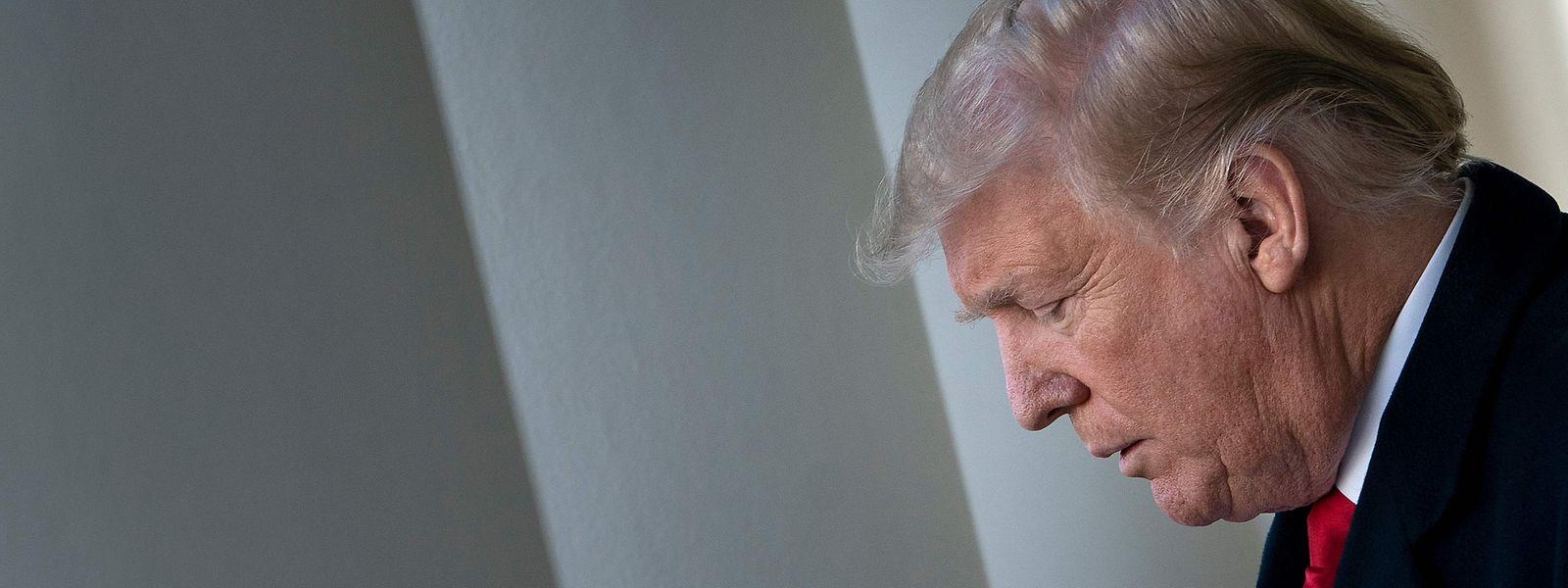 """Der """"Shutdown"""" bedeutet für Präsident Trump auch eine persönliche Niederlage."""