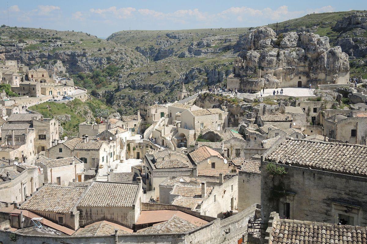 Die Stadt liegt abgelegen in der süditalienischen Region Basilikata.