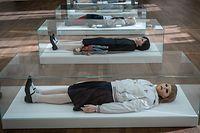 Kultur,Expo Casino. L'Homme Gris.Foto: Gerry Huberty/Luxemburger Wort