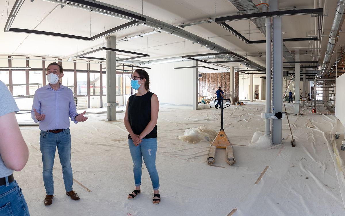Nicolas Didier und Nathalie Gales: Die Möglichkeiten zur Entdeckungsreise werden ausgeweitet, das Science Center erweitert sich auf 1.700 Quadratmeter.