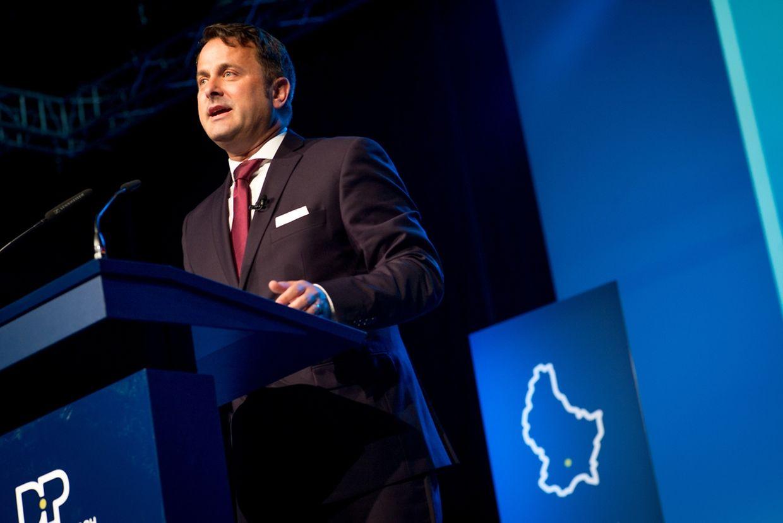 Premier Bettel hielt eine engagierte Rede.