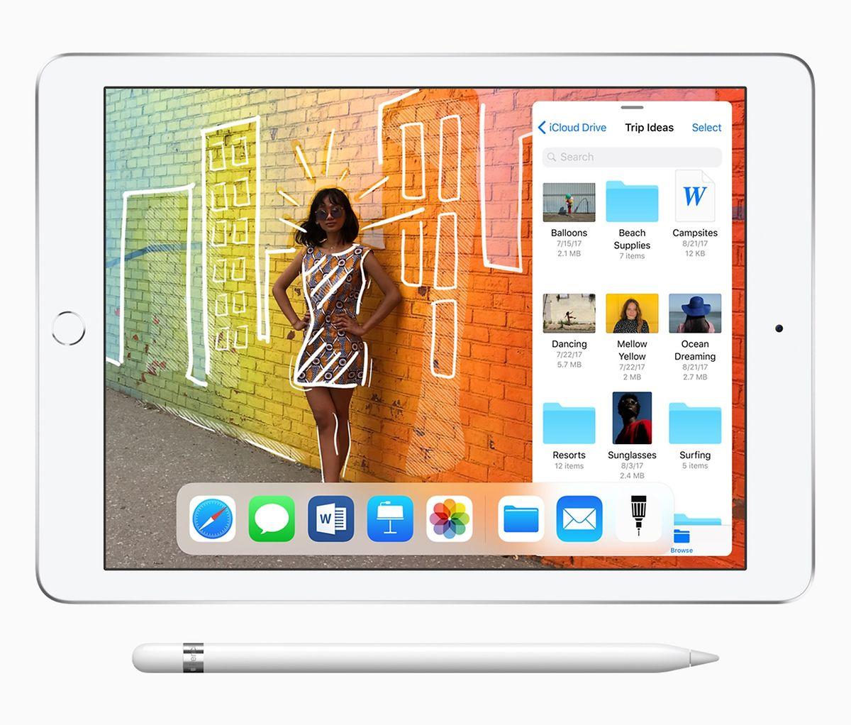 Poucos meses após ter lançado uma versão mais barata do iPad (na foto), a Apple deverá anunciar novas versões do tablet.