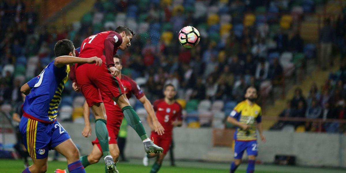 Cristiano Ronaldo a rapidement ôté tout suspense à cette rencontre à sens unique contre Andorre