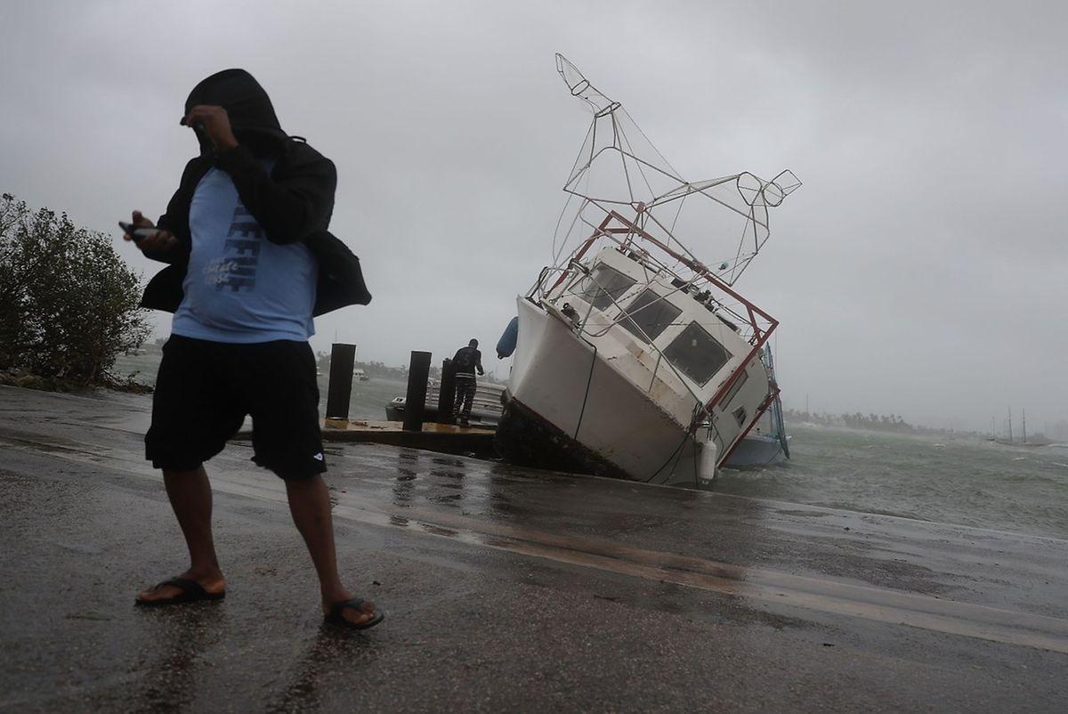 In Miami musste man gegen eine Sturmflut ankämpfen.