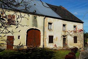 abgerissener Hof in Keispelt