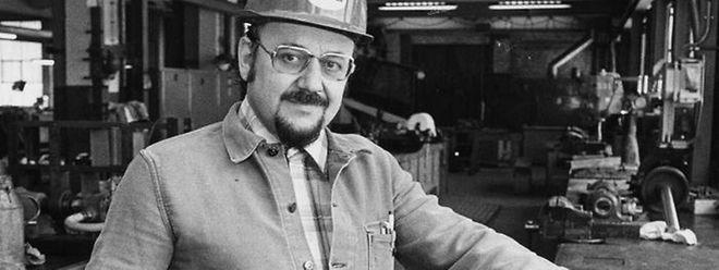 Josy Mischo war gelernter Schlosser und Grubenarbeiter.