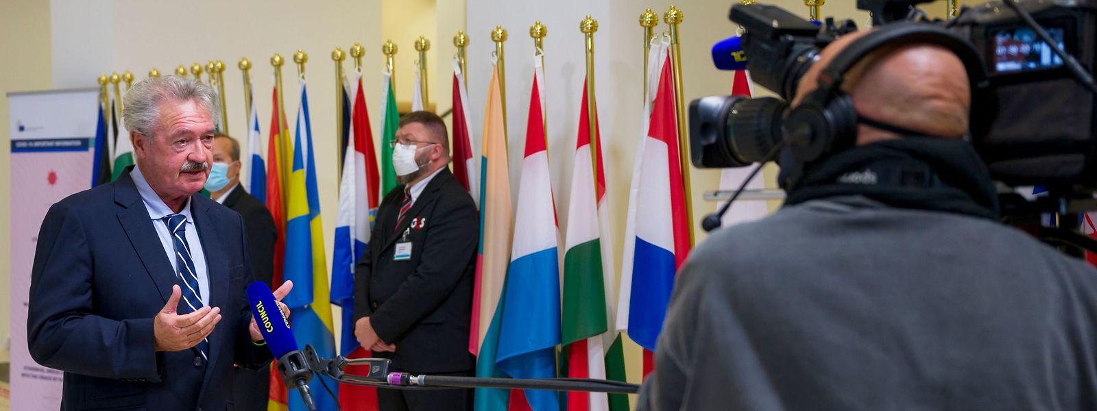 Si une majorité d'Etats se sont accordés mardi sur l'utilisation de la carte de l'Agence européenne de santé publique, Jean Asselborn (LSAP) et le Luxembourg se sont abstenus.