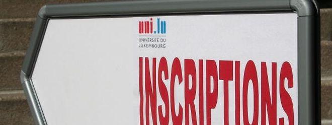 Eine klare Beschilderung sucht man bei der Onlineeinschreibung an der Uni vergebens.