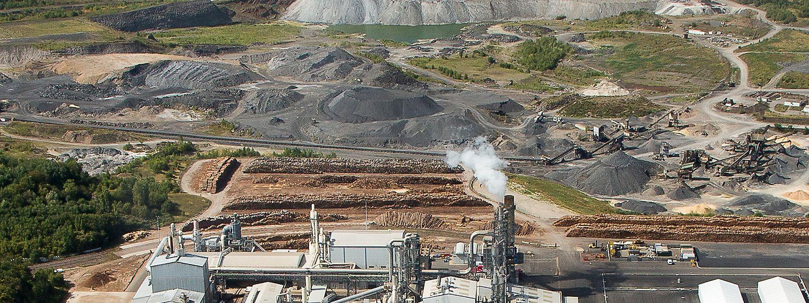 ArcelorMittal n'est pas le seul acteur privé à entreposer des déchets sur le site.