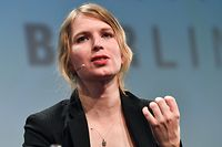 ARCHIV - 02.05.2018, Berlin: 02.05.2018, Berlin: Die US-amerikanische Whistleblowerin Chelsea Manning nimmt an der Internetkonferenz re:publica teil. Die frühere Wikileaks-Informantin Chelsea Manning hat nach Angaben ihrer Anwälte in einem Gefängnis in Alexandria (US-Bundesstaat Virginia) einen Selbstmordversuch unternommen. Foto: Jens Kalaene/dpa +++ dpa-Bildfunk +++