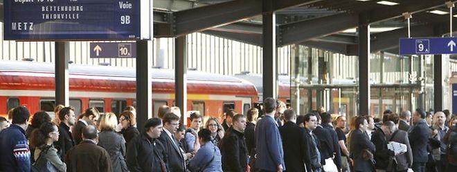Depuis jeudi 19 novembre et jusqu'au mercredi 25 novembre au moins, CFL et SNCF mettent les bouchées doubles sur la ligne entre Metz et Luxembourg.