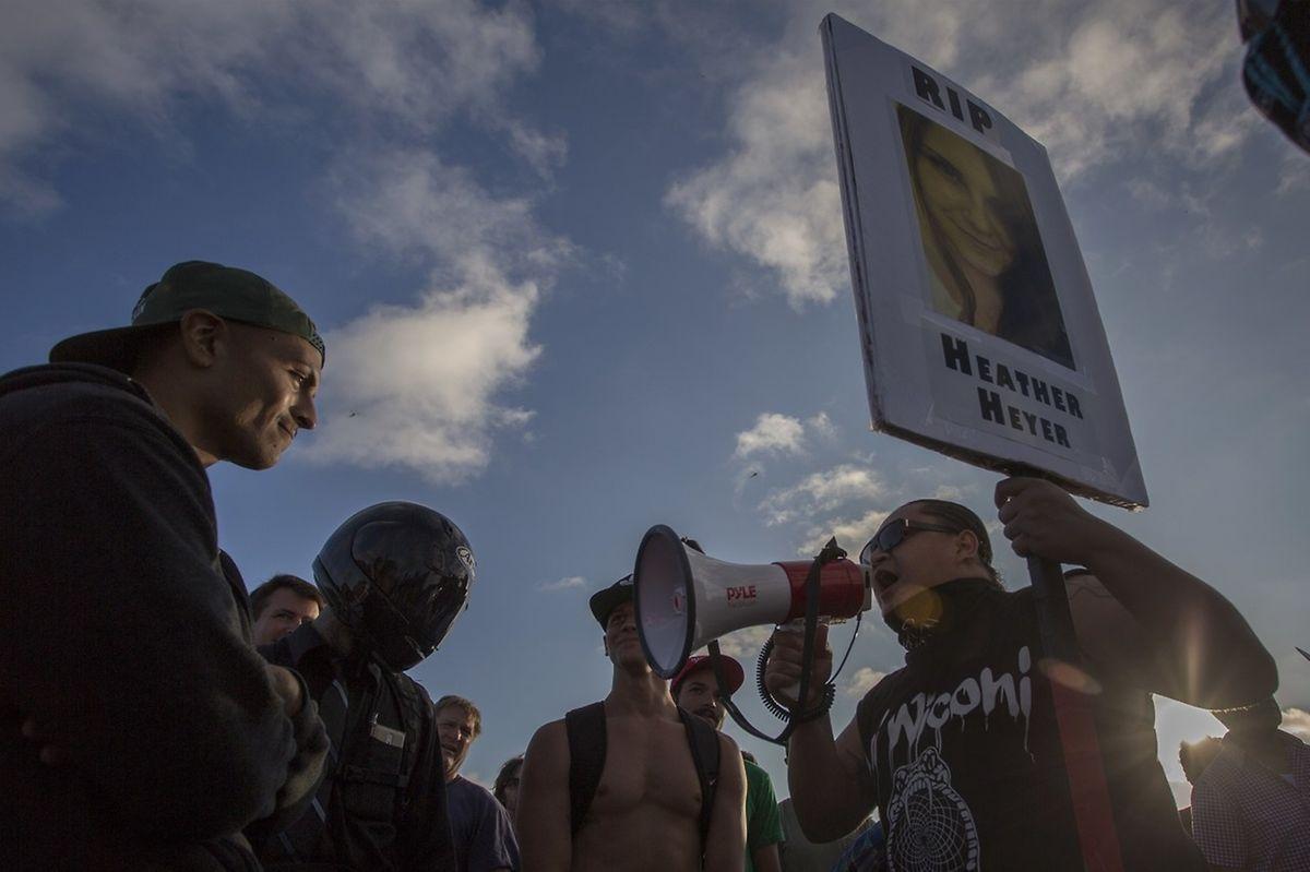 Die Handhabung der Vorfälle von Charlottesville hatten für zahlreiche Proteste gesorgt.