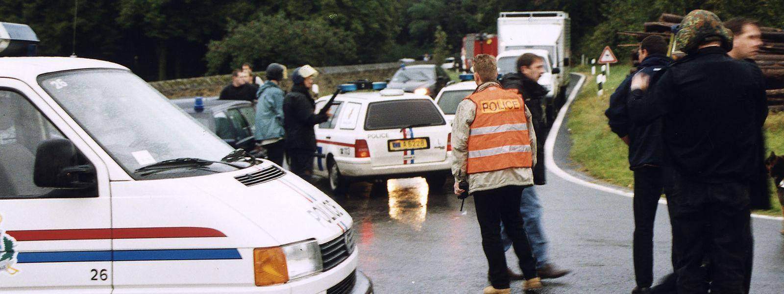 Nach dem Überfall auf den Geldtransporter in Findel wurde ein Täter in Scheidhof festgenommen. Fast 14Jahre saß er in Luxemburg im Gefängnis. In der vergangenen Woche wollte er in Belgien eine Bank überfallen.