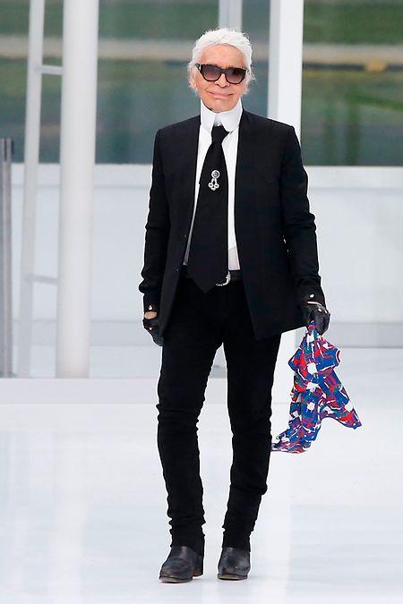 Designer Karl Lagerfeld.