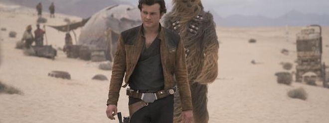 Die humorvolle Dynamik des Duos Han Solo/Chewbacca verleiht dem Film eine sympathische Note.