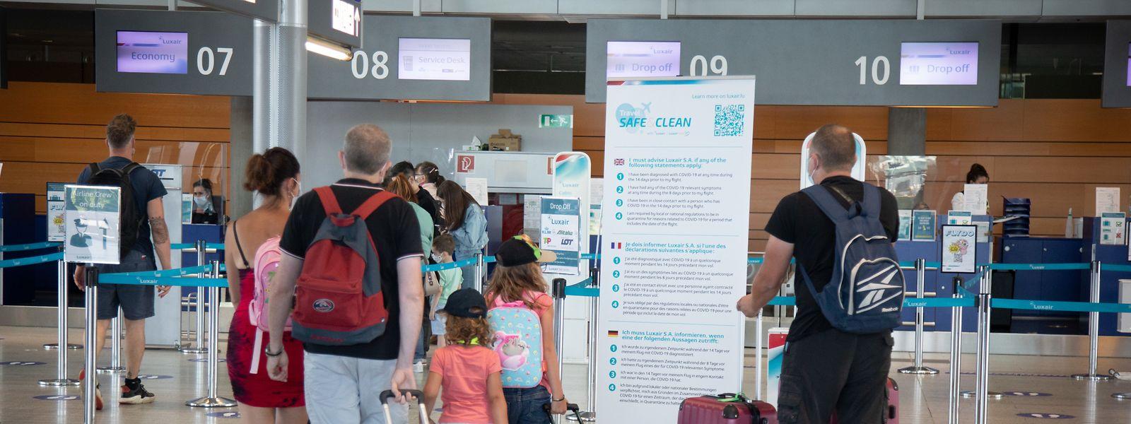 Les voyageurs en provenance du Luxembourg devront s'isoler en arrivant en Suisse.
