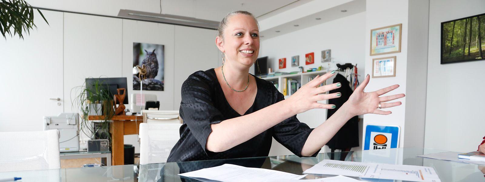 Pour Carole Dieschbourg (Déi Gréng), ministre de l'Environnement, le plastique à usage unique apparaît comme «le problème numéro un».