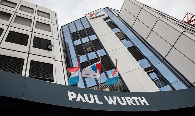 Paul Wurth's current headquarters in Hollerich, near Luxembourg's central train station