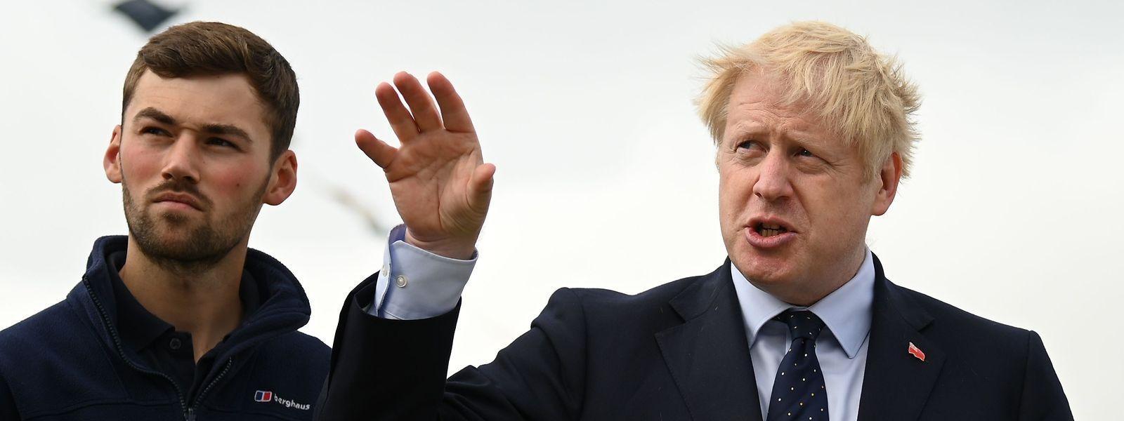 Boris Johnson tente toujours de négocier l'accord du Brexit avec les différents dirigeants de l'UE.