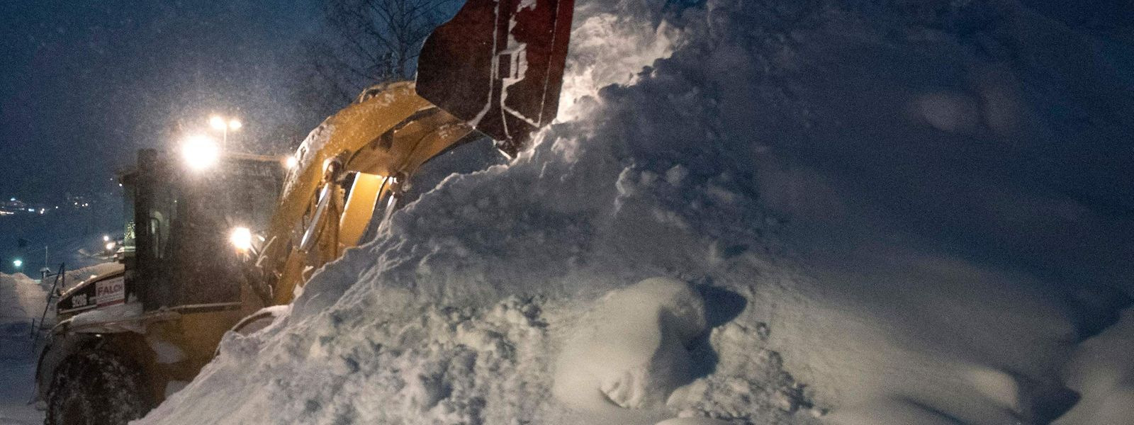 Sankt Anton sous la neige