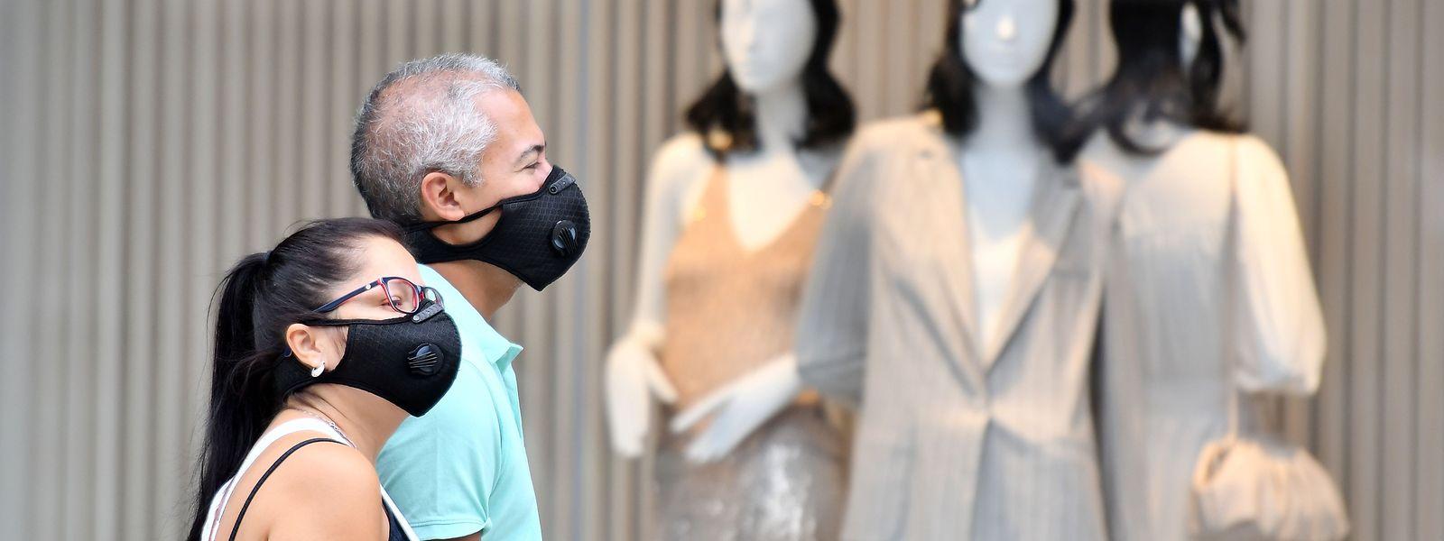 Masken gelten als wirksamer Schutz vor einer Corona-Infektion.