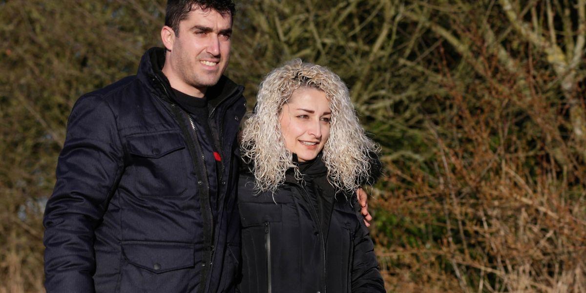 Ali Ibrahim blickt nun mit seiner Frau Suzan in eine bessere Zukunft.
